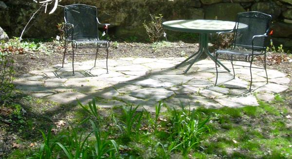 patio materials cost of fieldstone patio