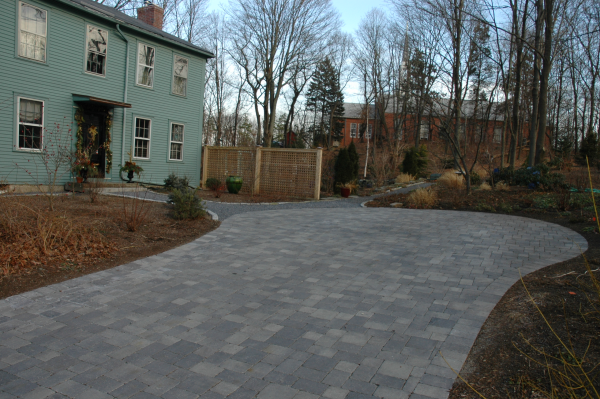 Lexington Massachusetts driveway design