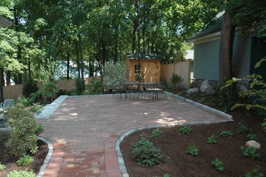 winchester massachusetts landscape design project