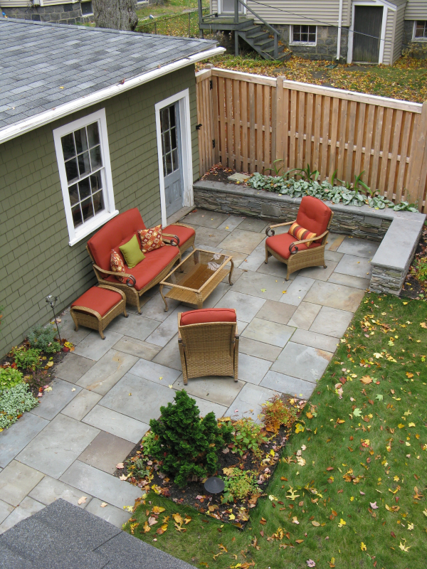 Bluestone Patio Material