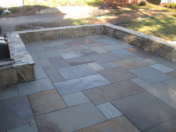 Patio Materials The Cost Of Bluestone Patios