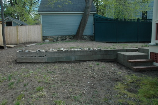 before pictures of personalized landscape design