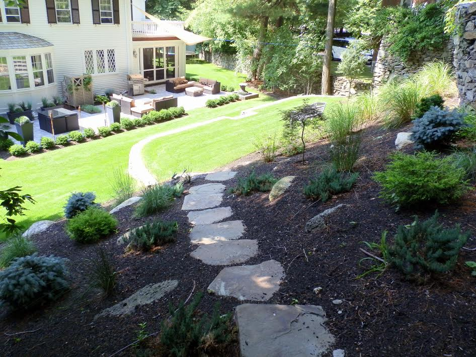 personalized landscape design backyard