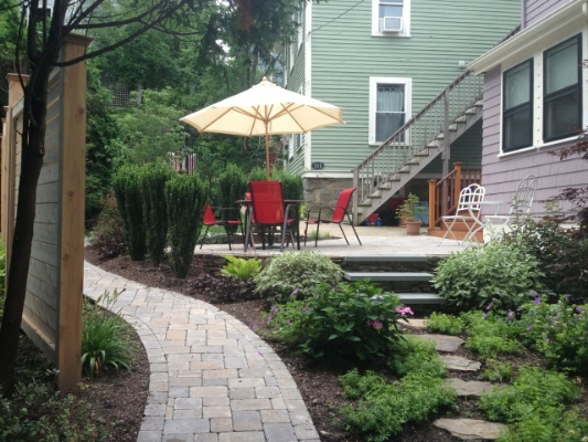 custom landscaping arlington ma