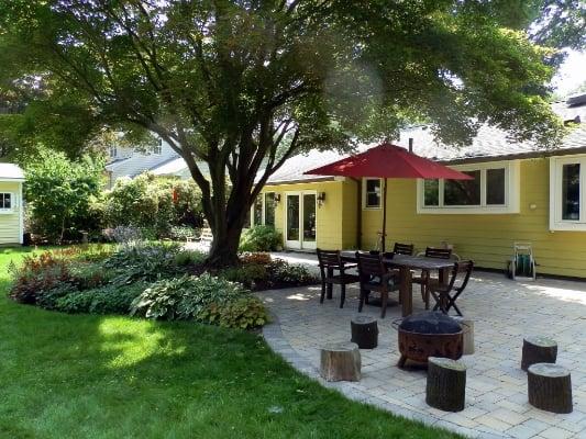 Residential landscape design Massachusetts
