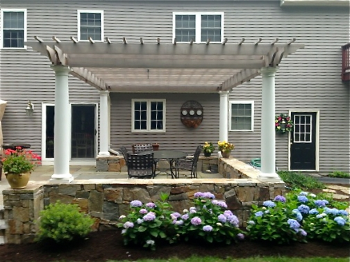 Custom Landscaping Massachusetts