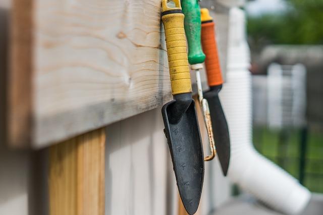 sharpen your gardening tools