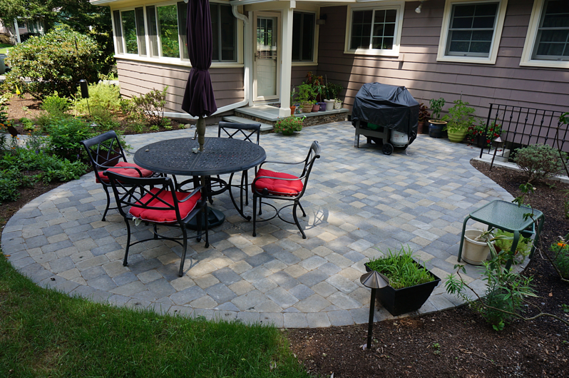 hardscape patio landscaping